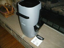 Litter Genie Cat Disposal System with Refill Grey Black Never Used with Scoop