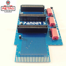 3 SLOT CARTRIDGE PORT EXPANDER FOR COMMODORE 64 / 128 - BRAND NEW