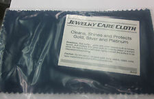 Jewelry Cleaning and Polishing Cloth for Silver, Gold, Brass & Most other Metals