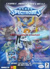 "Spectrobes ""Nintendo DS"" 2007 Magazine Advert #4919"