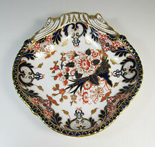 "1888 Royal Crown Derby Imari KINGS Shell Serving Bowl- 9.5"" - #383"