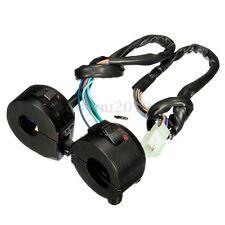 2x Moto 7/8 '' Commutateur De Guidon Corne Clignotant Electrique Interrupteur