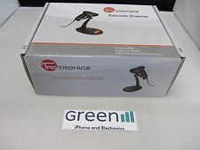 New Taotronics TT-BS003 Black USB Automatic Wired Laser Barcode Scanner