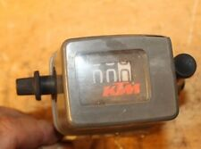 1998 KTM 300EXC  ODOMETER WITH LIGHT SWITCH AND MOUNT (WEAR ON COVER)