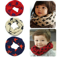 Fashion Kid Children Toddler Boy Girl Knitted Woolen Winter Warmer Scarf Snood