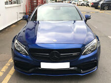 Mercedes AMG C63 S Black Grille Insert C205 A205 C Class Coupe Cabriolet