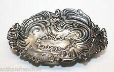 Ancien vide poche baguier en argent massif anglais, silver