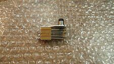 Switchcraft 4006 5A 125V DPDT Non Locking Pushbutton NF Switch