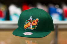 Mitchell & Ness Seattle Supersonics Solid Green Snapback Hat