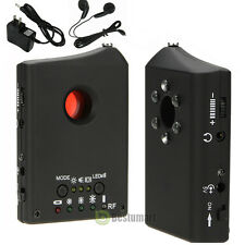 NEW Wireless RF GSM Bug Detector Spy Hidden Camera Finder