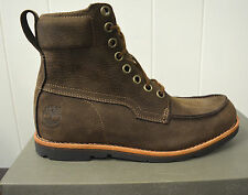 Timberland Earthkeepers Rugged Waterproof Mens Brown Leather Boots 9730A Size 8