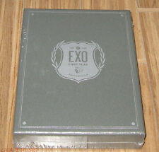 EXO EXO's First Box K-POP 4 DISC DVD + EARPHONE WINDER SET SEALED