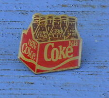 Pin's Coca-Cola Coke, fin des années 1980-début des années 1990