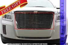 GTG 2010 - 2015 GMC Terrain 1PC Polished Replacement Billet Grille Grill