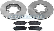 FOR NISSAN ELGRAND E50 3.0 3.2 3.3 3.5 98 99 2000 01 FRONT BRAKE PADS DISC SET