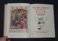 THE BIG BOOK OF FAIRY TALES: Illustrated by Charles Robinson / Childrens / 1911