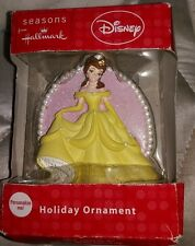 Disney princess Belle Christmas ornament NIB beauty and the beast