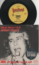 "JOHNNY O'KEEFE  COL JOYE  Rare 1977 Aust Only 7"" OOP Rock P/C Single ""2NX-Shout"""