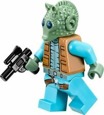 LEGO STAR WARS GREEDO MINIFIG BOUNTY HUNTER NEW FROM HAN SOLO CANTINA SET 75052