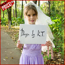 Wedding Short Bridal Head Veil Kids Communion Children Girls for Baptism + Tiara