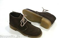 MARTINO Desert Brown Suede Ankle Quality Winter BOOTS Womens 8.5 NEW IN BOX