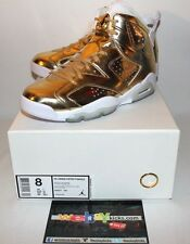 Air Jordan Retro 6 VI Pinnacle Gold White Limited Sneakers Mens Size 8 Brand New