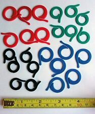 SPLIT RING KNITTING STITCH MARKERS - PACK OF 24