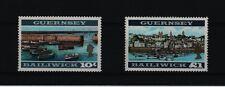 1969 Guernsey Perf 131/2 X 13 Sg 27a - 28 bis 10 & 1 £ um Excelente Estado