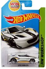 2014 Hot Wheels #193 HW Workshop HW All Stars Lotus Evora GT4 white
