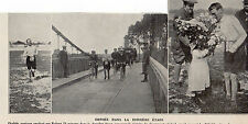 75 PARIS COURSE ORPHEE PONT DE BEAUMONT IMAGE 1912