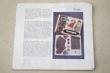 alter Katalog Autorennbahn, Rennbahnen, Bauteile + Zubehör, Auto