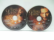Gospel Of John DVDs NO CASEs 2 & 3 Hour Versions Christopher Plummer Saville