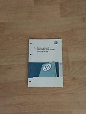 VW  SERVICE BOOK BRAND NEW
