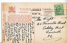 Genealogy Postcard - Family History - Wright - Lambeth - London S.E.   U3810