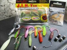 "READY To Fish Set (30pcs) -Lucky John-Scorpion offset-jig heads ""Cheburashka""!!"