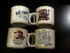 Set Of 4 Larry The Cable Guy Git-R-Done 16oz Mug Set Right To Bare Arms Mint