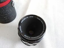 Asahi Pentax Super Multi Coated Macro Takumar 50mm 1:4 W/ Case - M42 Mount