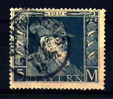 GERMAN STATES - GERMANIA ANTICHI STATI - BAVIERA - 1911-1912 - 90° compleanno de