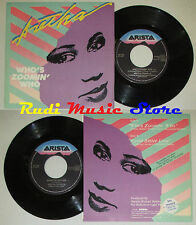 """LP 45 7"""" ARETHA FRANKLIN Who's zoomin Sweet bitter love 1986 italy cd mc dvd"""