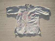 ANTIQUE 1920s BASEBALL JERSEY WOOD RIVER IL BY LEACOCK SUPPLY ST LOUIS CARDINALS