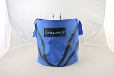 Blue Folding Bike Pannier Bag Complete With Bracket - Free Shipping