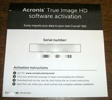 Acronis True Image 2015 HD Short Serial Number for Download Digital Delivery
