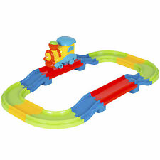 Kids Toy Beginners Electric Train Set With Lights and Sound Colorful Tracks