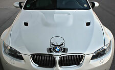 BMW Motorhauben Aufkleber Piston Skull Shocker Sticker Limited Edition Power