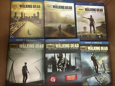 The Walking Dead Complete Blue Ray Set TV Series Seasons 1 2 3 4 5 6 Box Set NEW