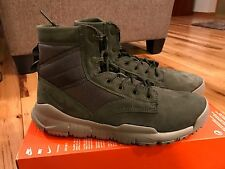 "Nike SFB 6"" NSW Leather Cargo Khaki Boots 862507-300 Men's Size 11.5"