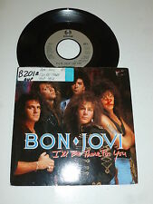 "BON JOVI - I'll Be There For You - 1988 UK 2-track 7"" Juke Box Single"