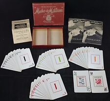 "Vintage Parker Brothers ""Make a Million"" The Exciting New Game c1935 edition"
