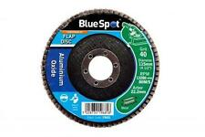 "40 GRIT EX. COARSE Flap Sanding Wheels 115mm 4 1/2"" Aluminium Oxide  Wood Metal"