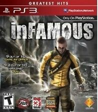 PLAYSTATION 3 PS3 THIRD PERSON ACTION GAME INFAMOUS BRAND NEW & SEALED